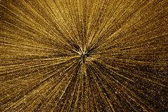 Golden holiday explosion background. Royalty Free Stock Photos