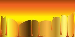 Golden Honey Background Royalty Free Stock Image