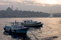 Golden Horn Royalty Free Stock Image
