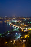 Golden horn. At istanbul turkey Stock Photography