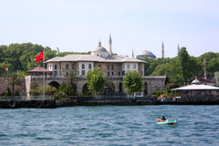 From Golden Horn. Sepetciler House. A view from Golden Horn. Istanbul - Turkey Royalty Free Stock Image