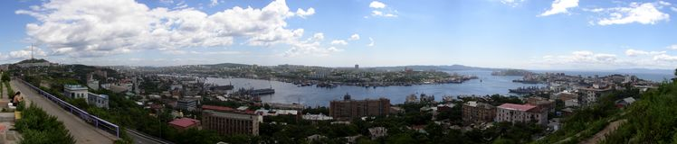 Golden Horn Bay. On Far East of Russia Royalty Free Stock Image