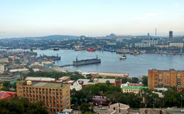Golden Horn bay, Vladivostok Royalty Free Stock Photography