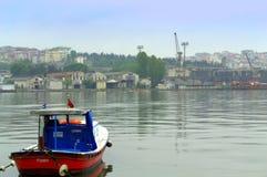 Golden Horn coast Istanbul Stock Photos