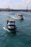 Golden Horn Ferries Stock Image
