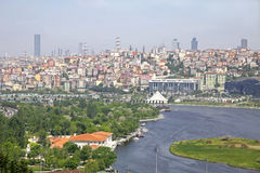 Golden Horn inlet in Istanbul, Turkey Royalty Free Stock Photos