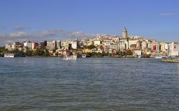 Golden horn, istanbul Royalty Free Stock Photo