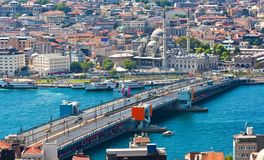 Golden Horn in Istanbul Stock Image