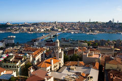 Golden Horn in Istanbul Stock Photography