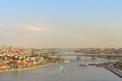 Golden Horn of Istanbul. Royalty Free Stock Photo