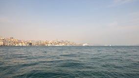 Golden Horn, Istanbul, Timelapse stock video