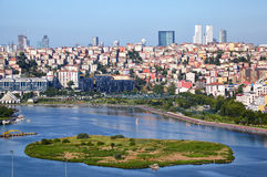 Golden Horn and Sutluce, Istanbul Stock Images