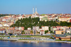 Golden Horn and Sutluce region, Istanbul Stock Photography