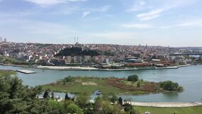 Golden Horn view from The Pierre Loti Hill