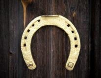 Golden Horseshoe Royalty Free Stock Images