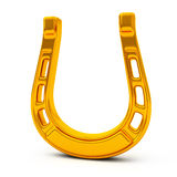 Golden horseshoe, 3d Stock Image