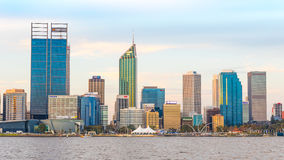 Golden Hour at Perth Stock Photography