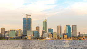 Golden Hour at Perth Royalty Free Stock Photography