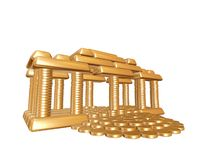 Golden House Stock Image