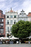 Golden house in Gdansk in Poland Royalty Free Stock Photo