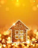 Golden house Stock Photography