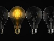 GOLDEN IDEA Stock Image