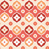 Golden ikat geometric seamless pattern background Stock Image