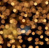 Golden illumination Stock Photography