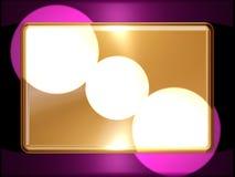 Golden ingot royalty free stock photography