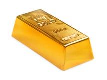 Golden ingot Stock Photos