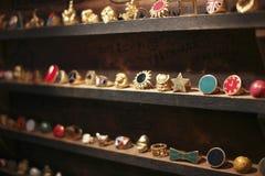Golden jewelry Royalty Free Stock Photos