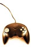 Golden joystick Royalty Free Stock Image