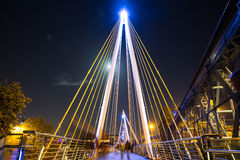 Golden Jubilee Bridge London Royalty Free Stock Image
