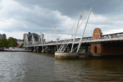 Golden Jubilee Bridges london Royalty Free Stock Photos