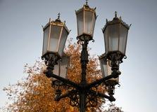 Jubilee Victorian Lamp Ringwood. Golden Jubilee Victorian Lamp Ringwood Royalty Free Stock Photo
