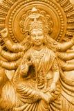 Golden Kali Royalty Free Stock Photography