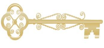 Golden key Stock Images