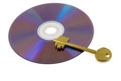 Golden key Royalty Free Stock Photos