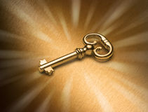 Golden Key Stock Photos