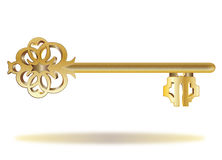 Golden key Stock Photos