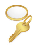 Golden Key Stock Photography