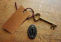 Golden key Royalty Free Stock Photo