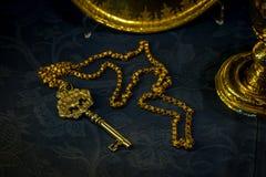 The golden key in Seville, Spain, Europe Stock Photo
