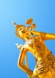 Golden Kinri Figure Royalty Free Stock Photos