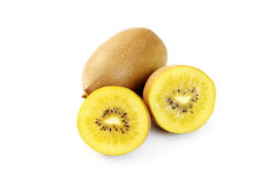 Golden kiwi stock photo