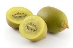 Golden kiwi fruit Stock Photos