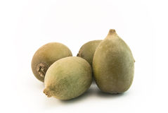 Golden Kiwi Fruits Stock Images