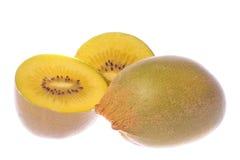 Free Golden Kiwi Fruits Macro Isolated Stock Images - 9215124