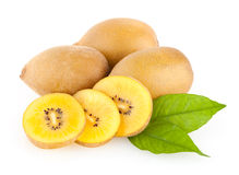 Golden kiwi Royalty Free Stock Photo