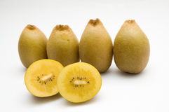 Golden kiwis Royalty Free Stock Photography